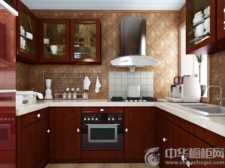 u型厨房装修效果图 u字型橱柜图片