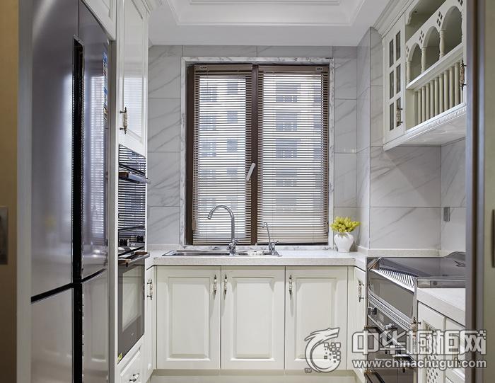 白色橱柜效果图 新古典风格橱柜图片