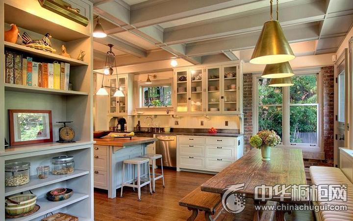 混搭风厨房图片 橱柜设计图