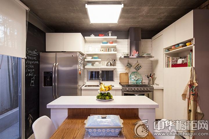 家庭厨房设计效果图 厨房吧台装修效果图