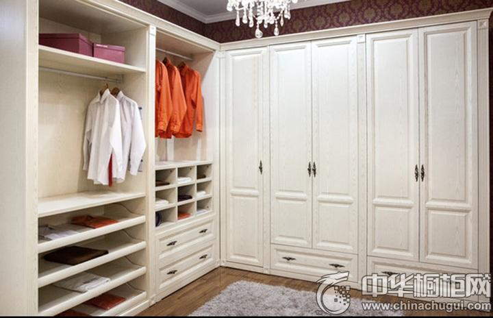 白色整体衣柜效果图 白色系整体衣柜图片