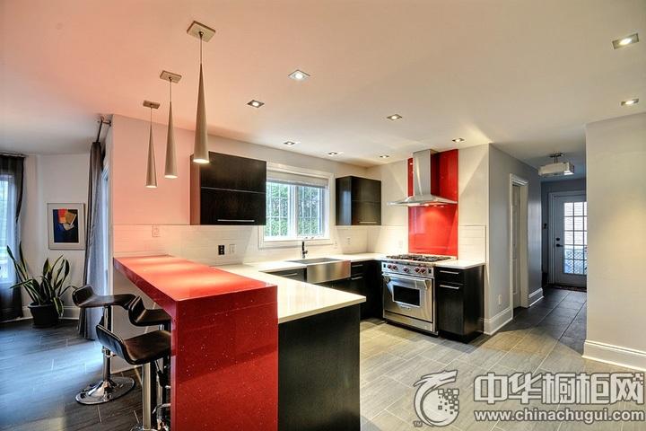 U型厨房装修图片 U型厨房设计图