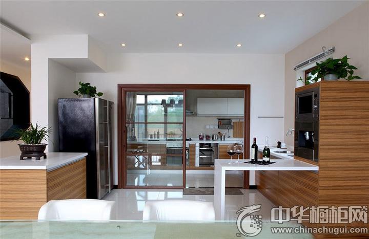 家庭厨房装修效果图 厨房设计效果图