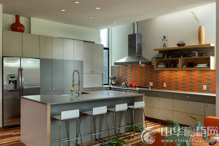 厨房间装修效果图 厨房设计图