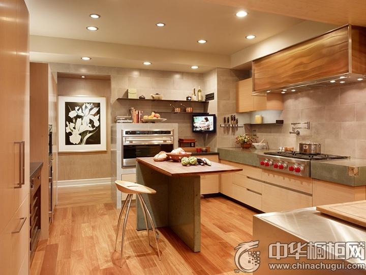 家庭厨房设计效果图 厨房图片