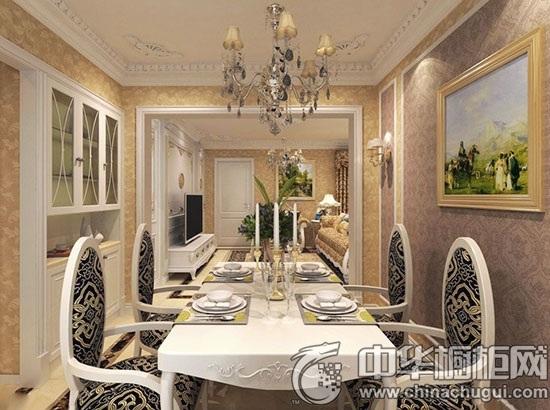 白色欧式餐桌