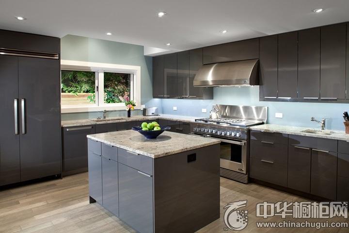 现代简约橱柜效果图 简约风格厨房装修图片