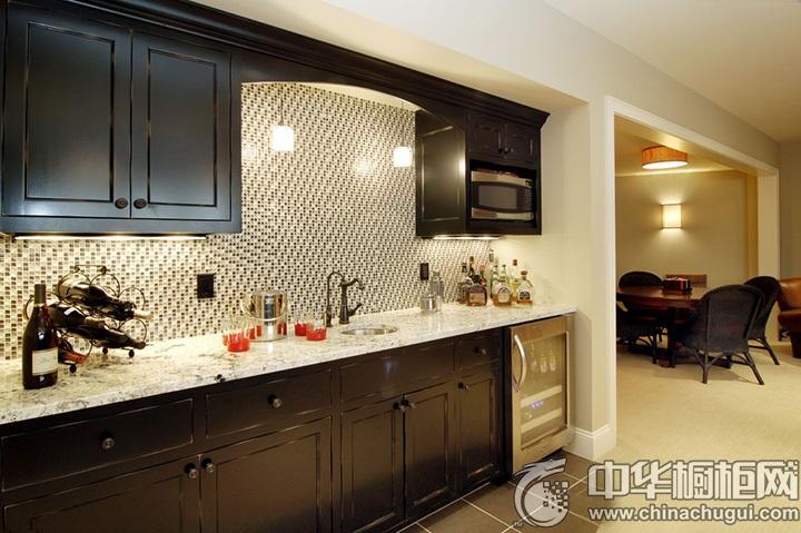 古典风格厨房装修设计图 新古典橱柜图片