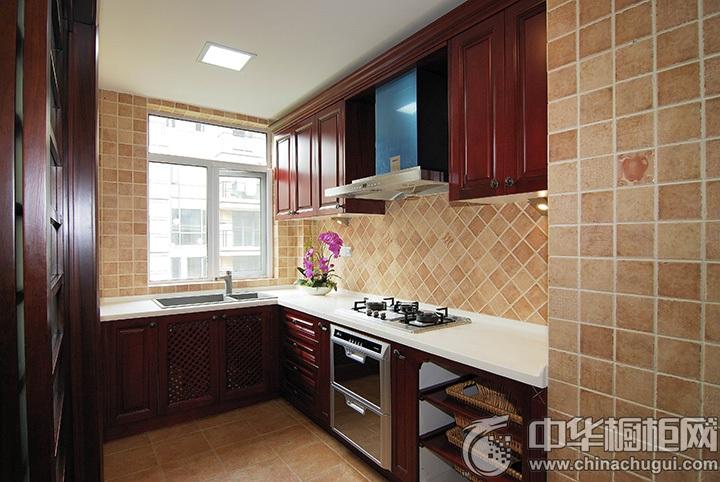L型厨房装修效果图 L型橱柜设计图