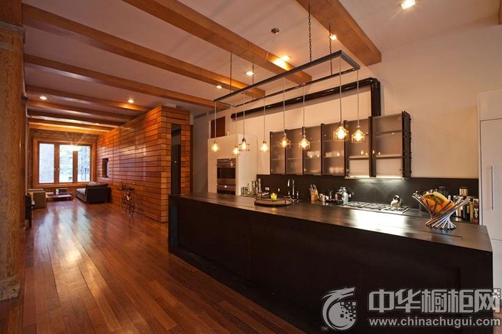 现代整体橱柜效果图 现代风格厨房设计图