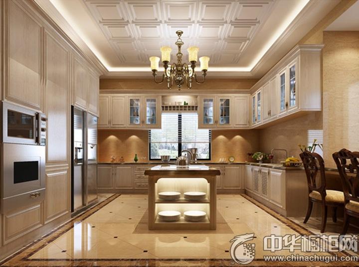 L型橱柜效果图 L型厨房设计图