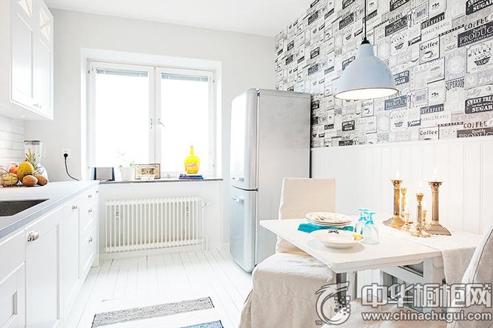 白色橱柜效果图 白色橱柜设计图片