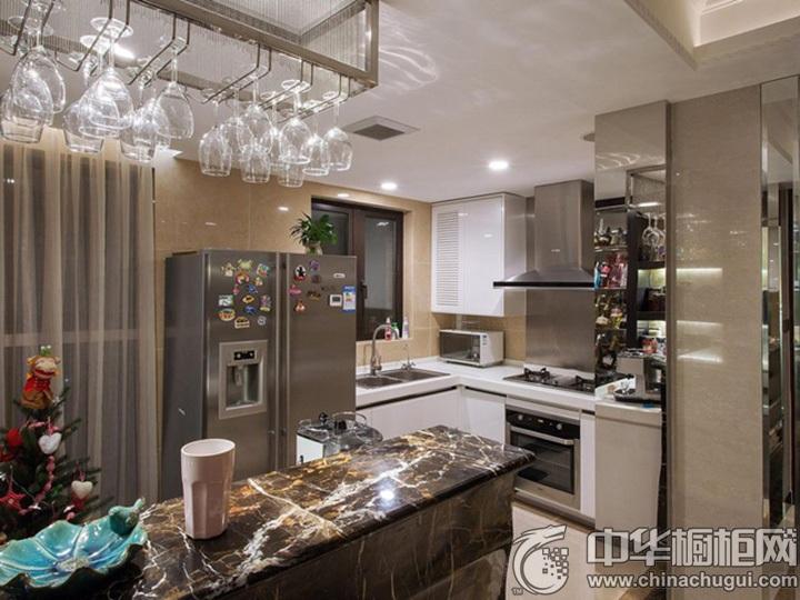 厨房装潢效果图 家装厨房设计效果图