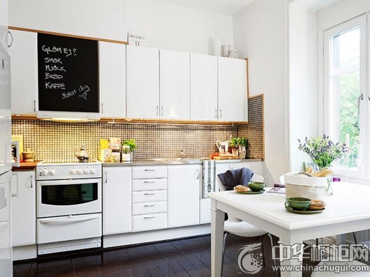 北欧风格厨房效果图 北欧风格橱柜图片