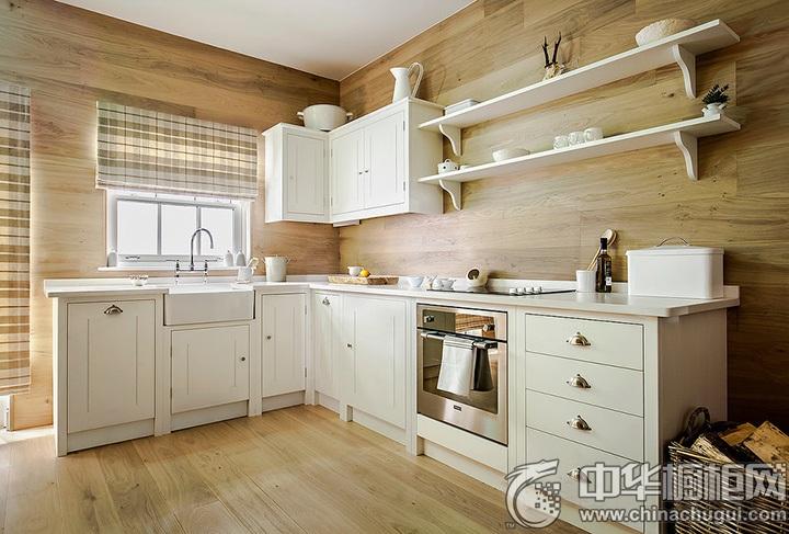 欧式田园厨房装修图片 欧式田园风格橱柜图片