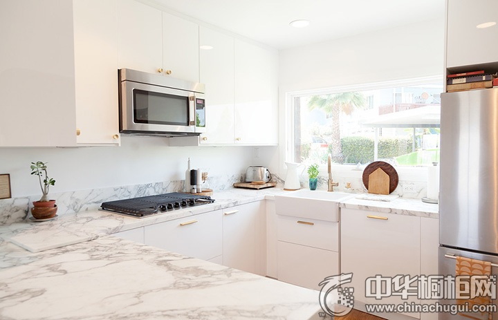 白色厨房设计图 白色厨房效果图