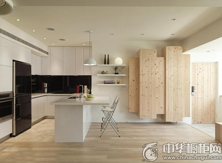 U型厨房装修效果图 U型橱柜设计图
