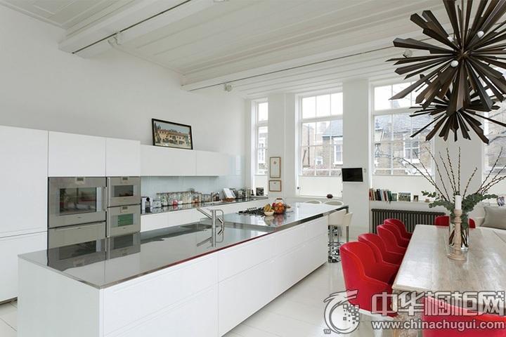 现代简约橱柜效果图 简约风格厨房图片