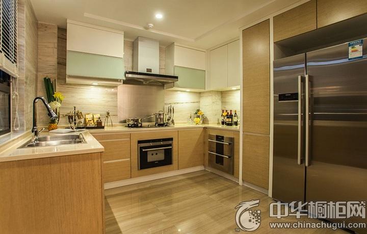 U型橱柜装修效果图 U型厨房设计图