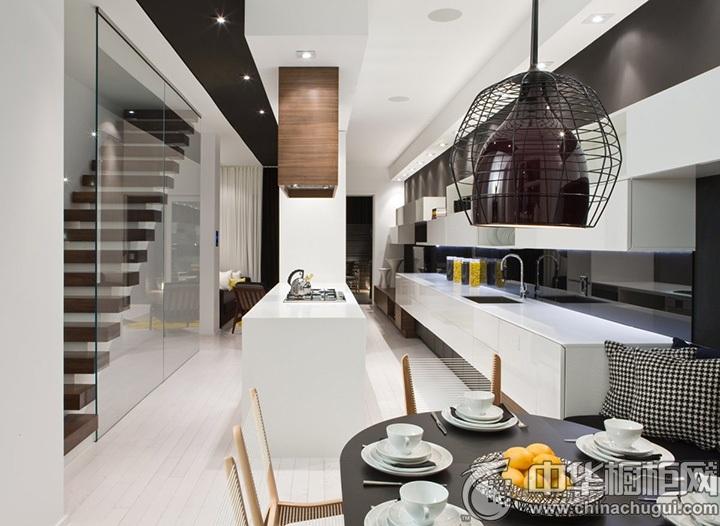整体厨房效果图 厨房装修效果图片