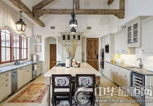 廚房設計效果圖 領略廚房裝飾的魅力-中華櫥柜網