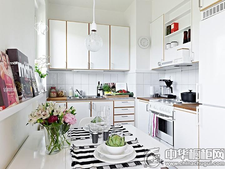 现代简约橱柜效果图 简约风格厨房效果图