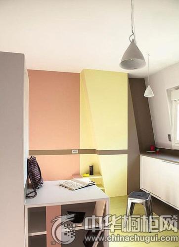 床,收纳柜,餐桌,厨房,在设计设计师的规划下,每一个功能区分割的有条