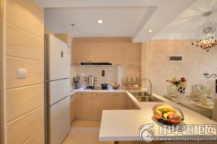 厨房间装修效果图 家庭厨房装修效果图