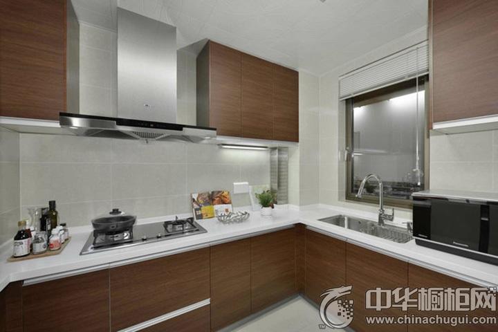 现代简约橱柜效果图 简约厨房装修效果图