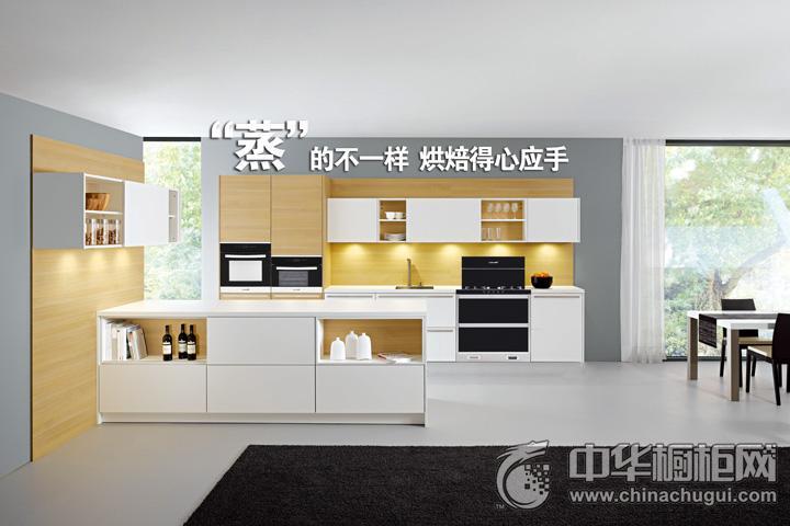 潮邦集成灶蒸箱烤箱2 简约风格橱柜图片