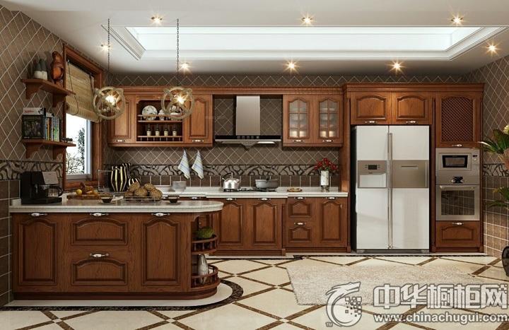 古典风格整体橱柜设计图 新古典整体橱柜图片