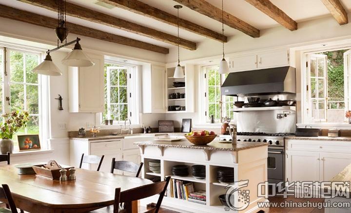 欧式厨房装修效果图 欧式橱柜装修效果图