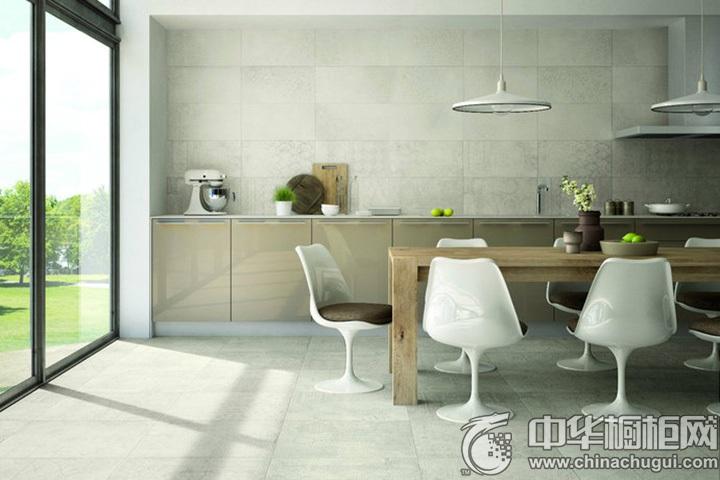 一字型整体橱柜图片 一字型厨房装修图片