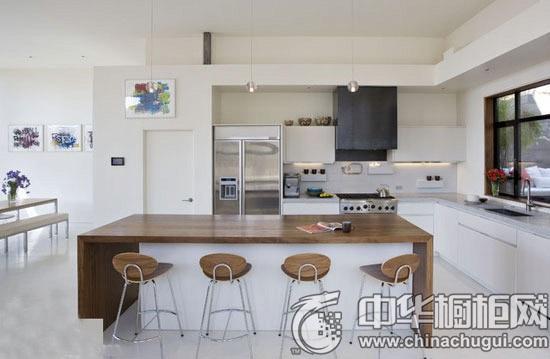 落地橱柜台面设计 激发厨房装修新灵感