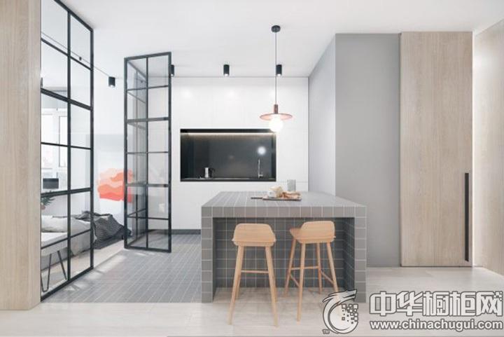厨房餐厅装修效果图 厨房装潢效果图