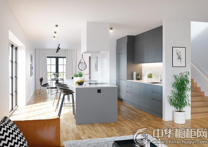 家庭厨房装修效果图 整体厨房设计图片