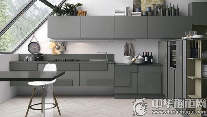 简约风格厨房图片 简约橱柜设计图
