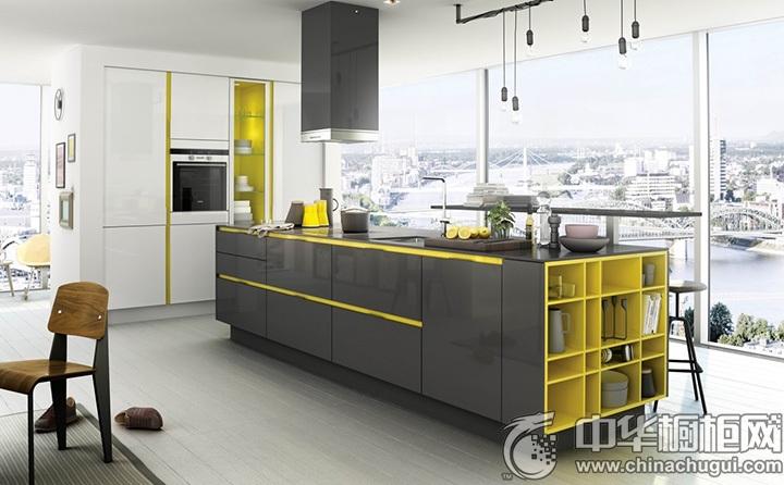 一字型厨房装修效果图 一字型橱柜设计图