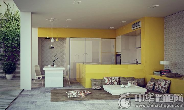 L型厨房装修效果图 L型厨房设计图