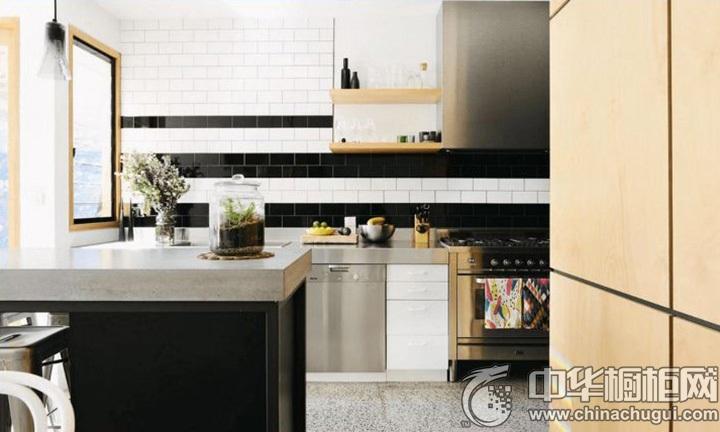 家庭厨房设计效果图 厨房整体橱柜效果图