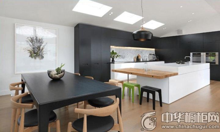 开放式厨房装修效果图 开放式橱柜效果图