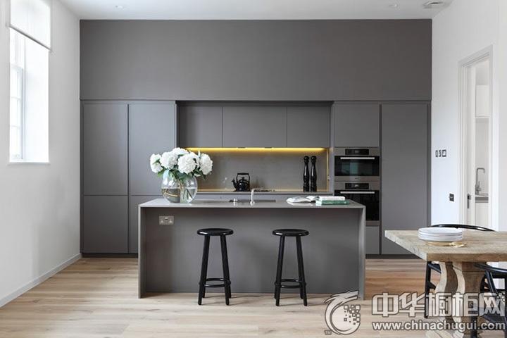 现代橱柜效果图  现代风格厨房效果图