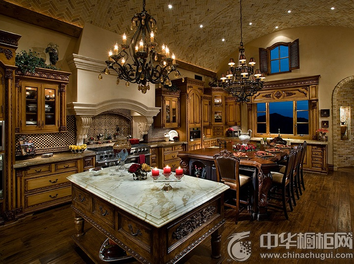 家庭厨房设计效果图 厨房装修设计效果图