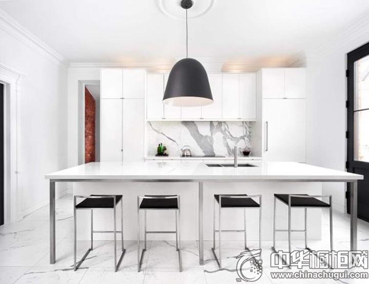 白色橱柜效果图 白色厨房装修