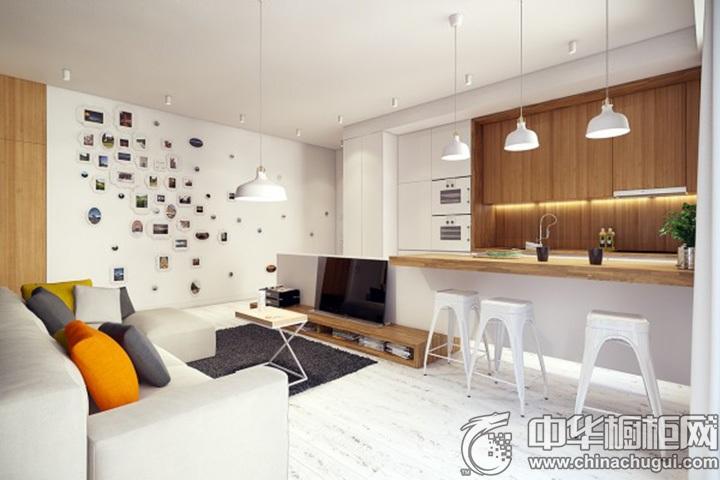 橱柜设计效果图 厨房整体橱柜效果图