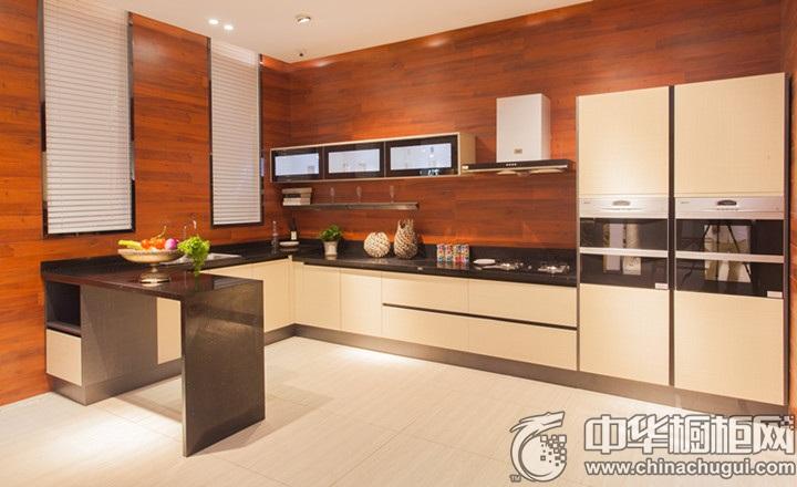 厨房设计效果图 U型橱柜效果图