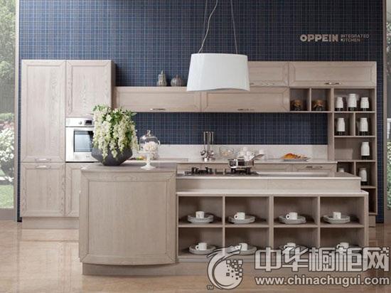 厨房橱柜搭配案例 领略欧派橱柜淡雅之美
