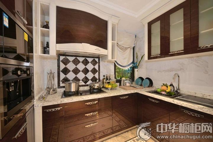 整体厨房设计图片 L型橱柜图片
