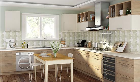 厨房橱柜装修巧用木质元素 打造