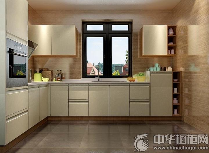 整体厨房图片 L型橱柜图片